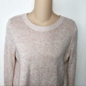 H&M Divided Soft Pink Pullover Crewneck Sweater